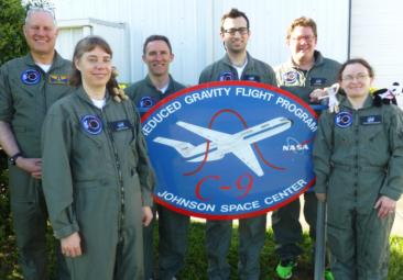 NH NASA EPSCoR team