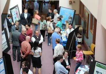 teachers at research symposium