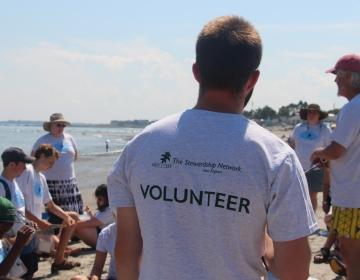 photo of volunteer