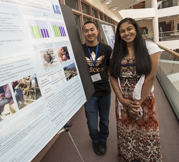 Project SMART students presenting their research