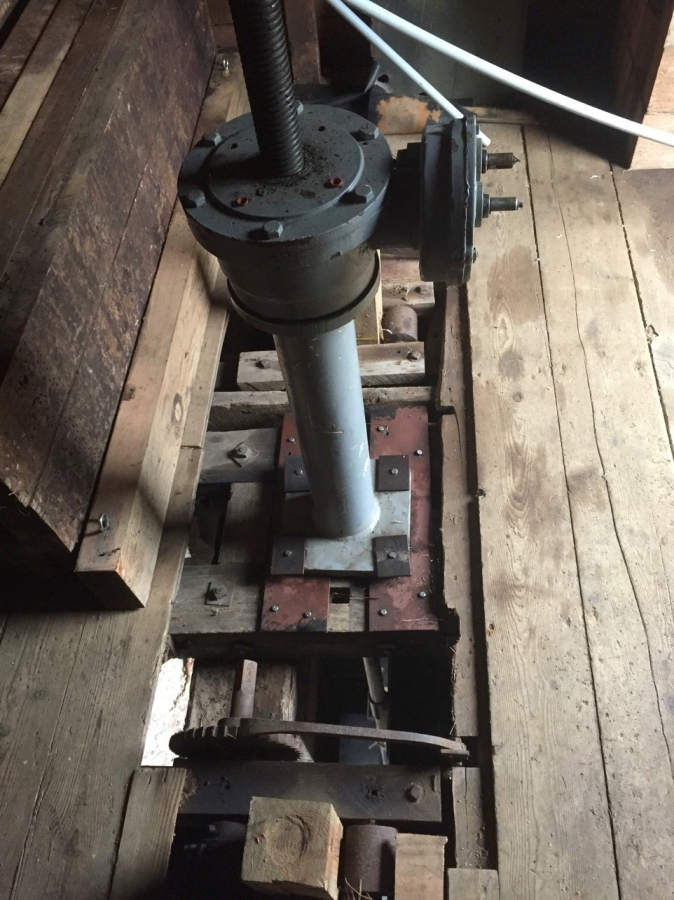 close up of mechanical device